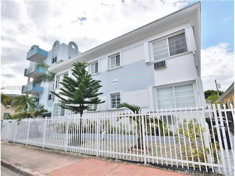 Miami Beach Apartment Building For Sale 8 Units 2 100 000
